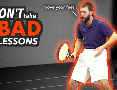 5 Signs of a BAD Tennis Lesson (and how to fix it)