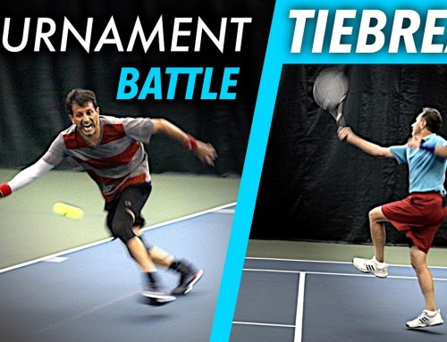 Tennis Match Play BATTLE (w/singles strategy coaching) – TIEBREAK