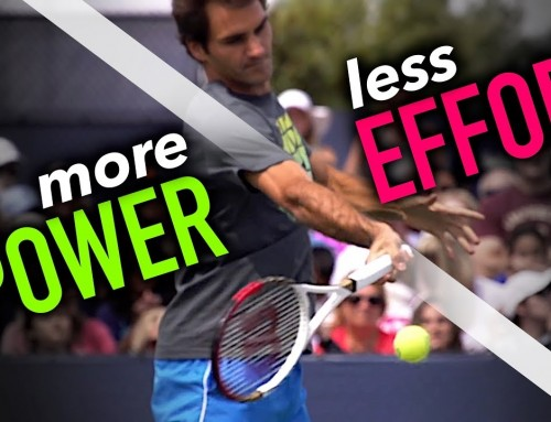 How to hit MORE Powerful Forehands with LESS effort