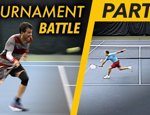 Tennis Match Play BATTLE (w/singles strategy coaching) – Part 1