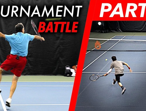 Tennis Match Play BATTLE (w/singles strategy coaching) – Part 2
