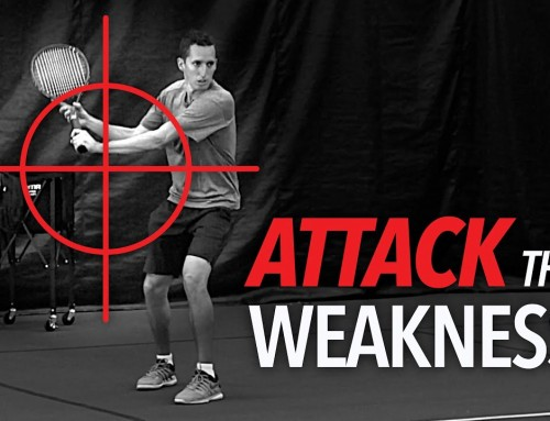 Attack the WEAKNESS (tennis drill)