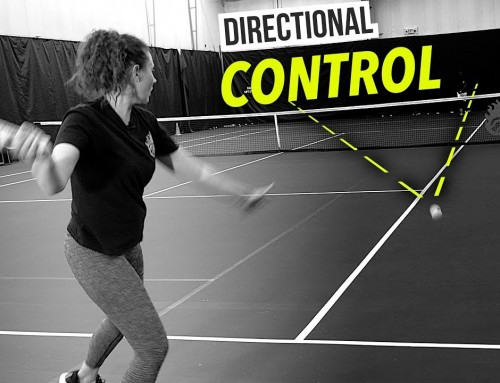 STOP Hitting Forehands Wide! (how to control direction)