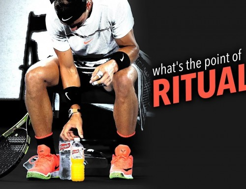 What's the point of tennis RITUALS?