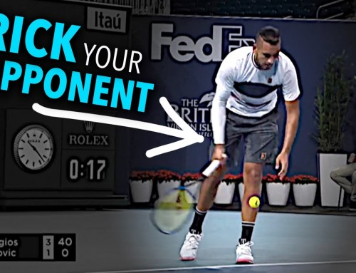 How to Underhand Serve like Kyrgios (tennis lesson)