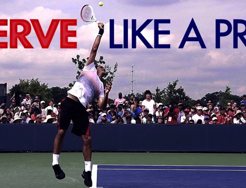 How to Serve like a PRO (tennis lesson)
