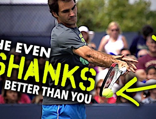 Federer shanks BETTER than you (and why it matters)