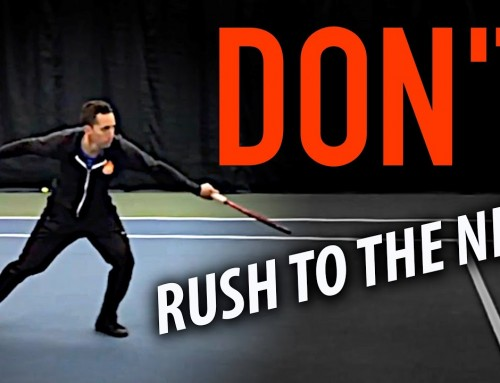 DON'T Rush to the Net! (do this instead)