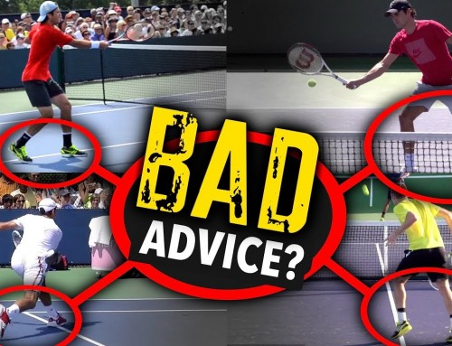 Don't follow this BAD volley advice (tennis lesson)