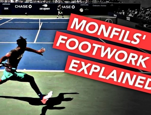 Monfils' Recovery Footwork EXPLAINED – tennis lesson