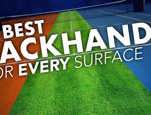 The BEST backhand for Clay, Grass & Hard Courts (tennis lesson)