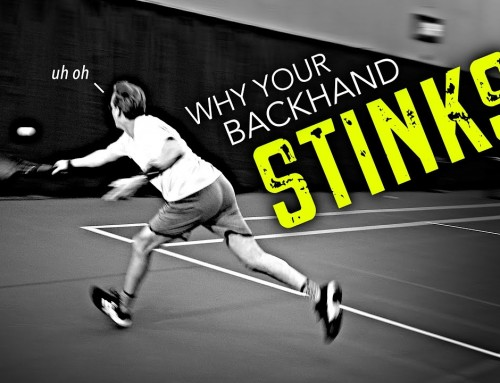 3 Reasons why MOST people's Backhands Suck