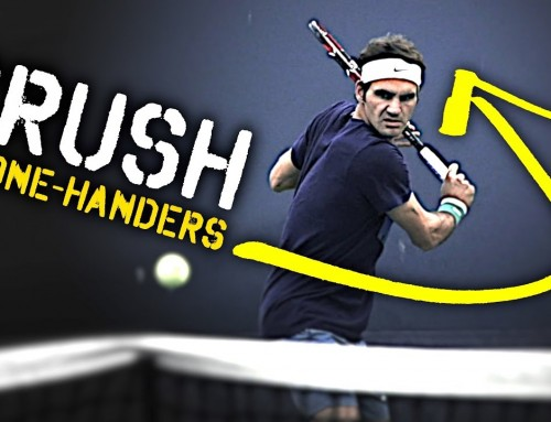 How to easily CRUSH your One Handed Backhand