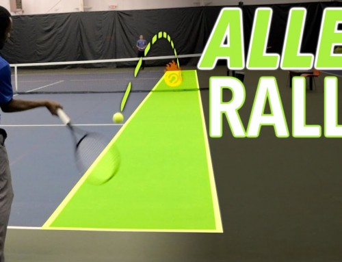 How to Control your Groundstrokes – Alley Rally Drills