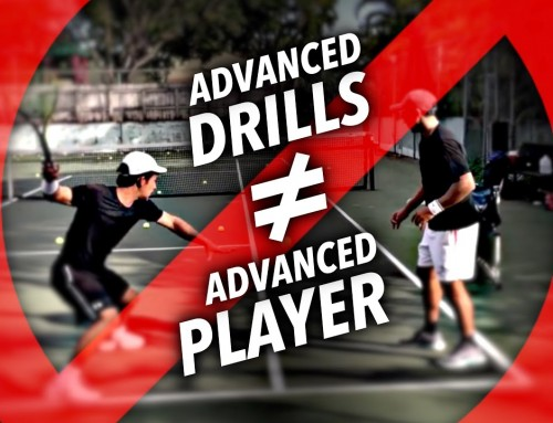 Advanced Drills WON'T make you an Advanced Tennis Player
