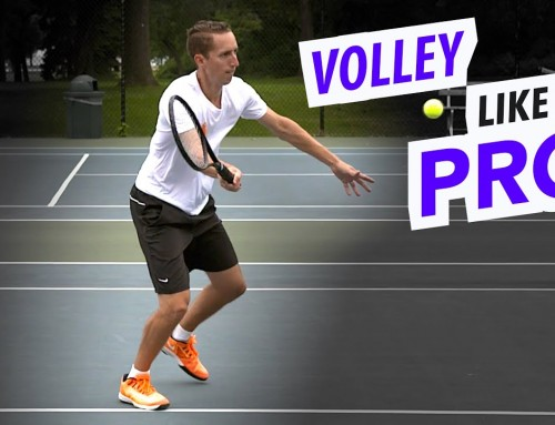 How to Volley like a PRO (tennis lesson)