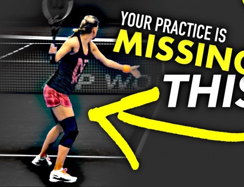 Your practice is missing THIS (tennis lesson)