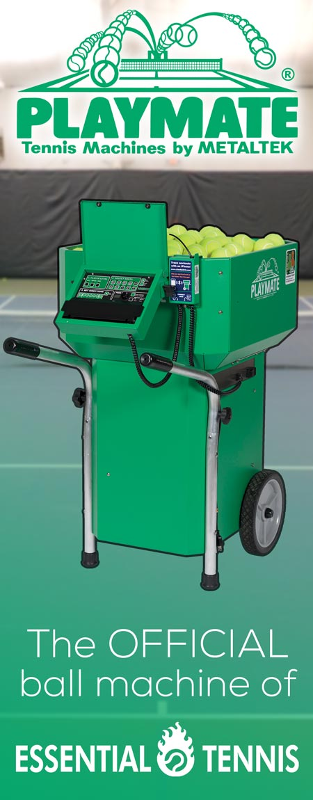 playmate tennis machines