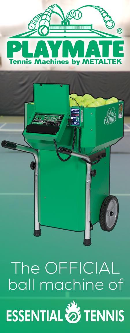 playmate tennis machines
